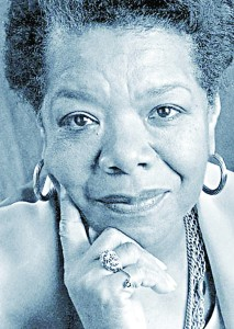 """The exhibit """"Phenomenal Woman: Maya Angelou 1928-2014"""" is being presented at the Schomburg Center for Research in Black Culture."""