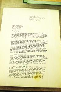 Una carta de Malcolm X, escrita justo días antes de su asesinato.