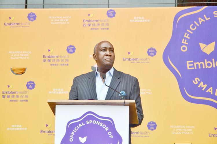 """""""La salud en nuestra comunidad ha sido ignorada durante demasiado tiempo"""", Lloyd Williams, presidente y CEO de la Gran Cámara de Comercio de Harlem."""