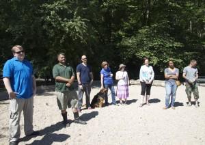 Miembros de Inwoof  se reunieron para recordar Snyder, quien falleció inesperadamente hace casi cuatro años.