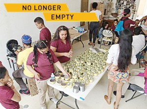 """No Longer Empty's exhibits give the larger community a chance to see what we've been up to,"" said Ellen Baxter, BHC's Founder and Executive Director."