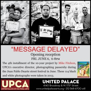 """""""I wanted it to be about the people,"""" says Mike Fitelson of his ten-year project """"Message Delayed."""""""