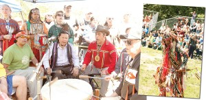 The annual Drums Along the Hudson: A Native American Festival and Multicultural Celebration took place in Inwood Hill Park.