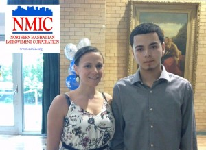 """""""Todo esto se convierte en una base para un futuro mejor"""", dijo la directora ejecutiva interina de NMIC, María Lizardo."""