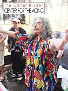Ann Kronenberg is the artist-in-residence at Carter Burden/Leonard Covello Senior Program.