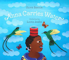 Laura James will read from <i>Anna Carries Water</i>, her first children's book.