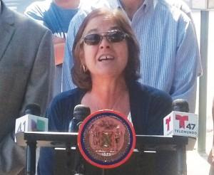 Lois H. Tendler es la vicepresidenta de relaciones gubernamentales de MTA.