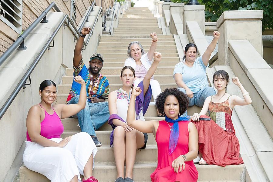 The ensemble cast. Photo: PTP